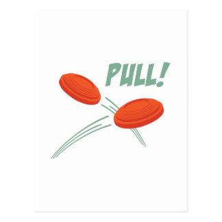Pull! Postcard