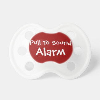 Pull To Sound Alarm - Baby Pacifier