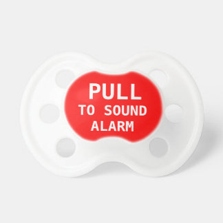 Pull To Sound Alarm Baby Pacifier