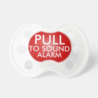 Pull to Sound Alarm, Funny Pacifier