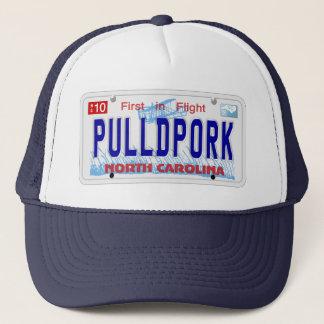 Pulled Pork NC Plate Cap