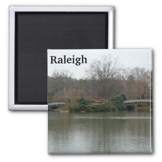 Pullen Park Raleigh Photo Magnet Lake NC