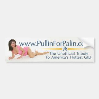 PullinForPalin.com Post Election Bumper Sticker