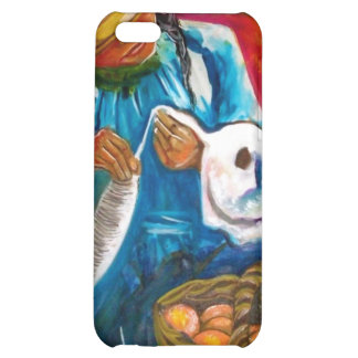 Pulling Cotton Cover For iPhone 5C