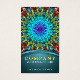 Pulling In Mandala Business Card