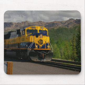 Pulling into Denali Mouse Pad