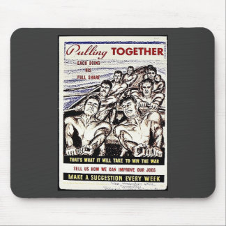 Pulling Together Mousepads