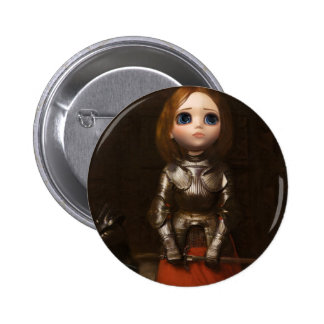Pullip Joan of arc Button Keychain
