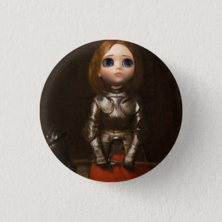 Pullip JOan of Arc Round badge Button