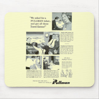 Pullman Sleeping Car was for overnight Trains Mouse Pad