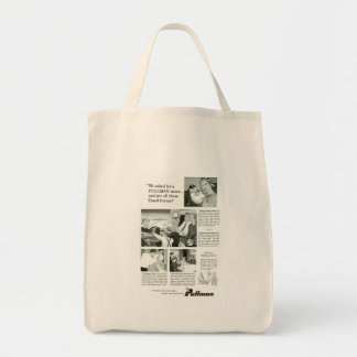 Pullman Sleeping Car was for overnight Trains Grocery Tote Bag