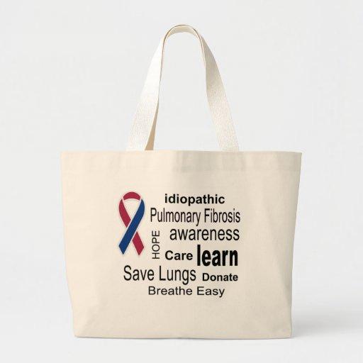Pulmonary Fibrosis Awareness Tote Bag