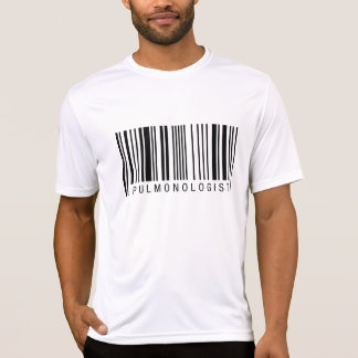 Pulmonologist Barcode T-Shirt