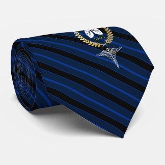 Pulmonologist | Respiratory Therapist Custom Navy Tie