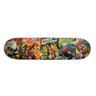 Pulp Comic Skateboard Deck