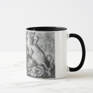 pulp era Black Bird coffee mug