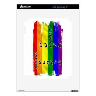 Pulse LGBT Flag iPad 2 Skin