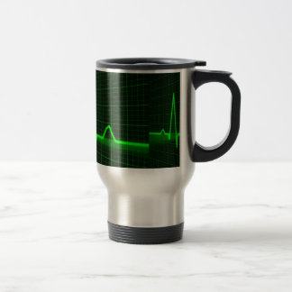 Pulse Trace Stainless Steel Travel/Commuter Mug