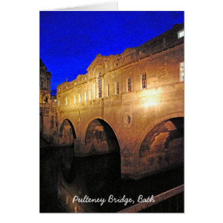 Pulteney Bridge, Bath Card