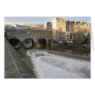 Pulteney Bridge Bath Card