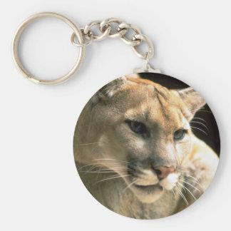 Puma Head Key Ring