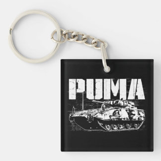 Puma (IFV) Square (double-sided) Keychain