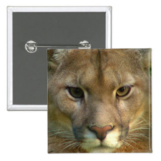 Puma Mountain Cat Square Pin