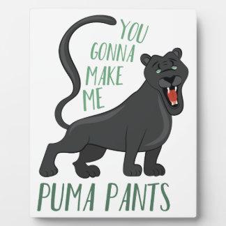 Puma Pants Plaque