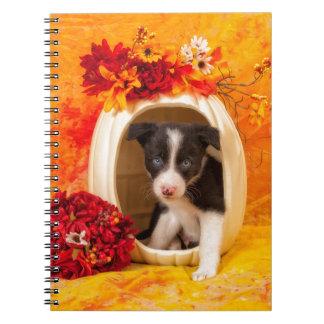 Pumkin Puppy Spiral Notebook