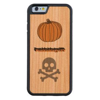 PumkinkingyoYT wooden phone case