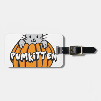 Pumkitten Luggage Tag