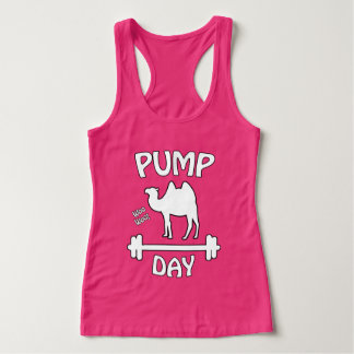 Pump Day! Fitness Humor Singlet
