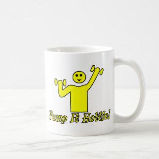 Pump It Hottie Basic White Mug