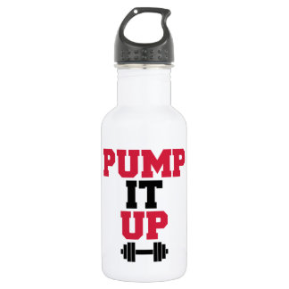 Pump It Up Gym Quote 532 Ml Water Bottle