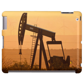 Pump Jack Pumping Oil In West Texas, USA