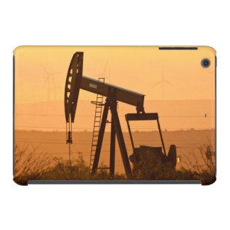 Pump Jack Pumping Oil In West Texas, USA iPad Mini Covers