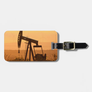 Pump Jack Pumping Oil In West Texas, USA Luggage Tags