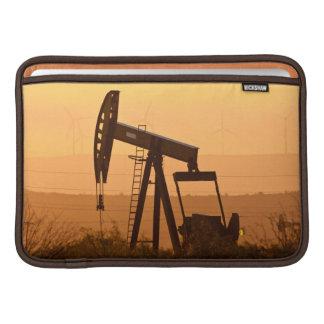 Pump Jack Pumping Oil In West Texas, USA MacBook Sleeves
