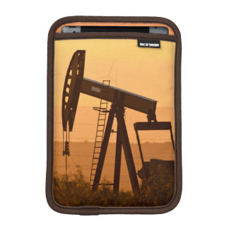 Pump Jack Pumping Oil In West Texas, USA Sleeve For iPad Mini