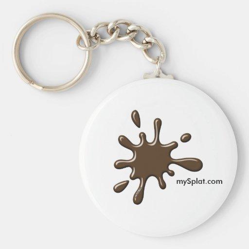 Pump Tournament Paintball - mySplat.com Key Chain