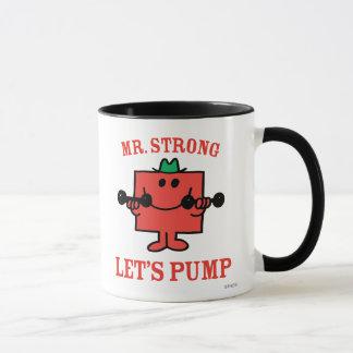 Pumping Iron With Mr. Strong Mug