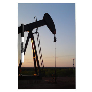 Pumping Unit in West Texas Dry-Erase Whiteboard