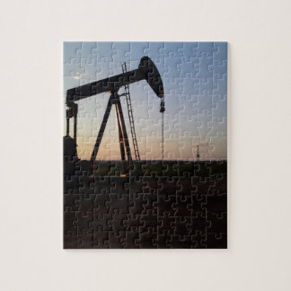 Pumping Unit in West Texas Jigsaw Puzzles