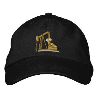 Pumpjack Zazzle Embroidered Baseball Caps