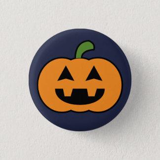 Pumpkin 3 Cm Round Badge
