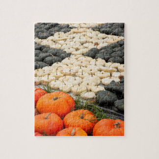 Pumpkin and squash pattern, Germany Jigsaw Puzzle