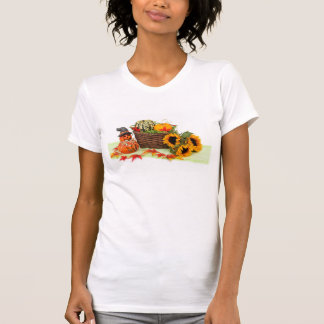 Pumpkin and Sunflowers T-Shirt