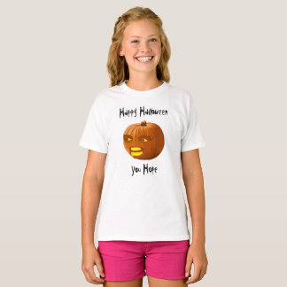 Pumpkin Angry: Happy Halloween - You Hope T-Shirt