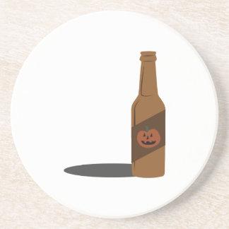 Pumpkin Beer Beverage Coaster