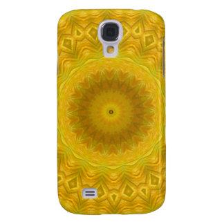 Pumpkin Blossom Kaleidoscope Galaxy S4 Covers